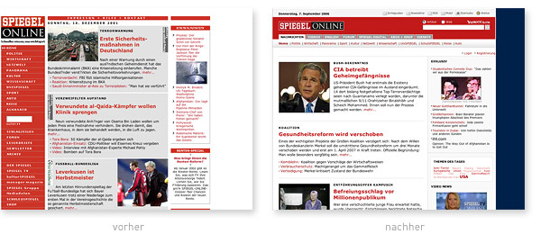 Spiegel Online Relaunch