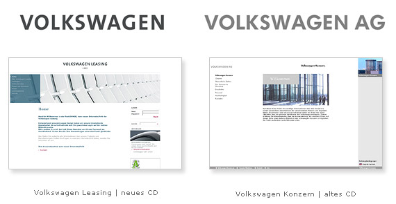 Volkswagen Konzern Corporate Design