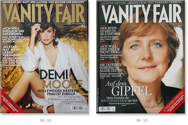 Vanity Fair Typografie