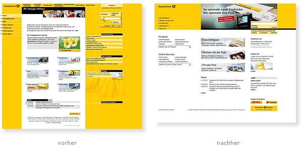 Relaunch Deutsche Post