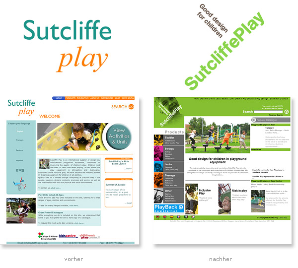 Sutcliffe Play Relaunch Logo