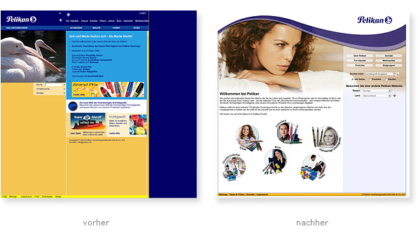 Relaunch Pelikan Webauftritt