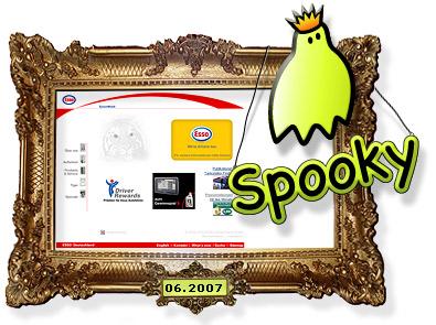 Esso Spooky Award