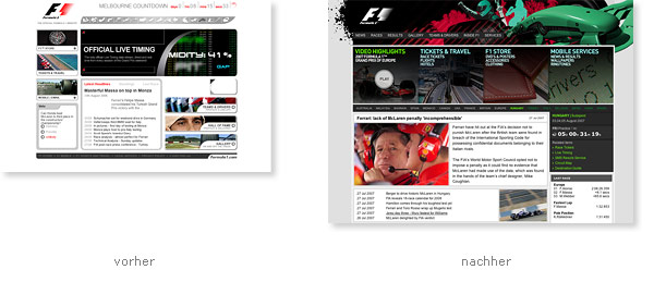 Formula 1 One Relaunch