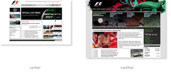 Formula 1 One Relaunch