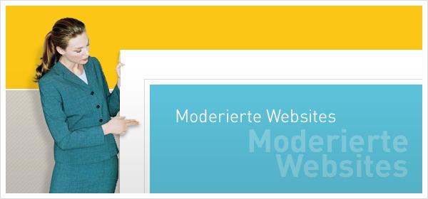 Moderierte Websites