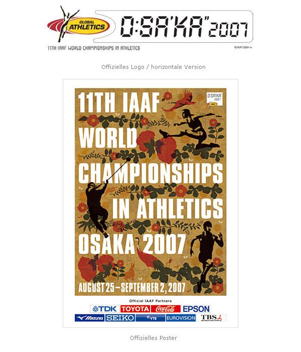 Logo Poster WM Osaka 2007