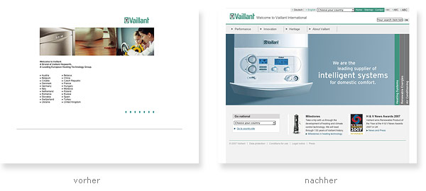 Vaillant  Relaunch