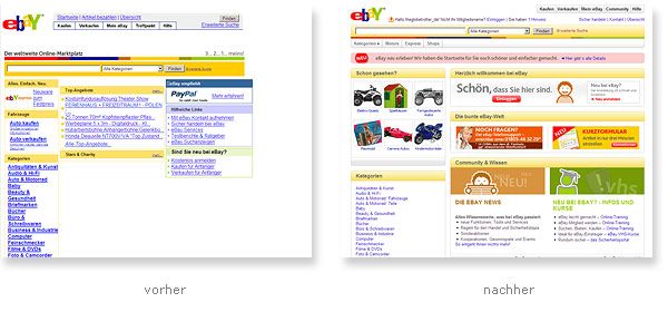 Ebay Relaunch