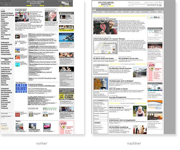 Relaunch Stuttgarter Zeitung