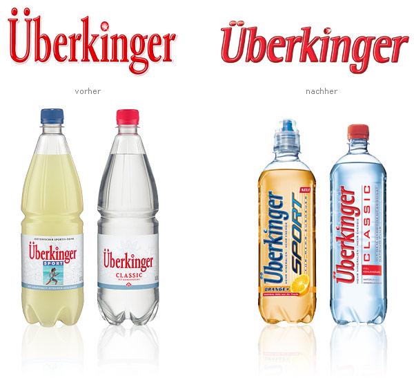 Überkinger Mineralwasser Relaunch