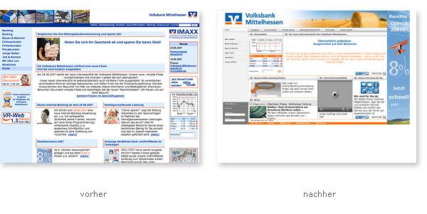 Relaunch Volksbank Mittelhessen