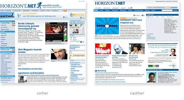 Horizont.net Relaunch