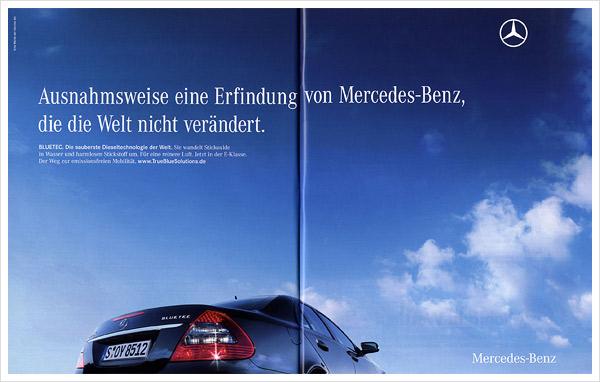 Mercedes-Benz Anzeige