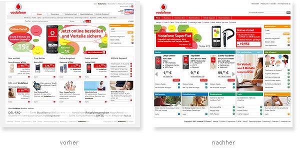 Vodafone Relaunch