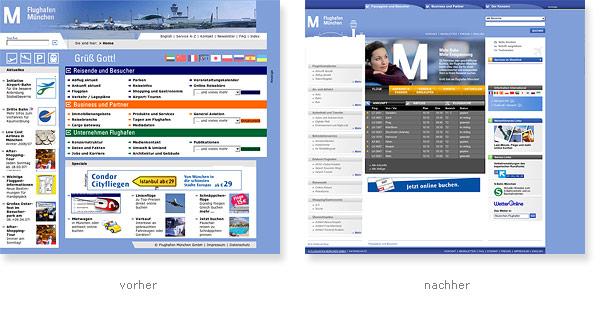 Flughafen München Relaunch