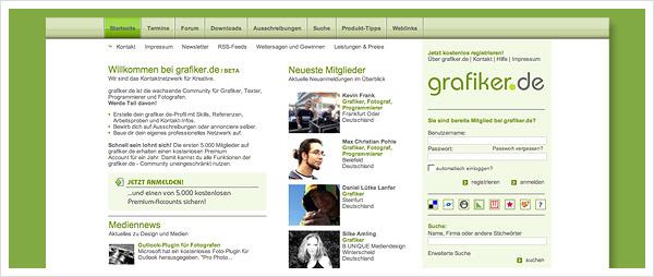Grafiker Netzwerk Kreative