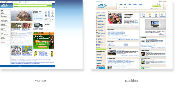 AOL Relaunch