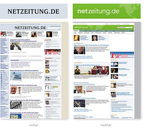 Netzeitung Relaunch