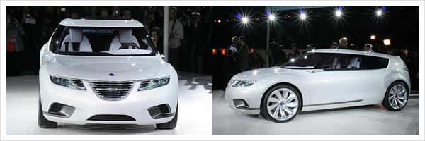 Präsentation Saab 9-X