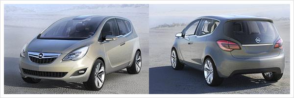 Opel-Meriva Konzept Auto
