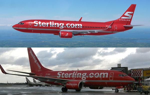 Sterling Flugzeug