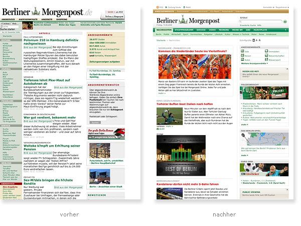 Berliner Morgenpost Relaunch