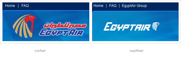Egyptair Website