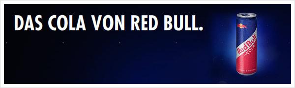 Das Cola von Red Bull