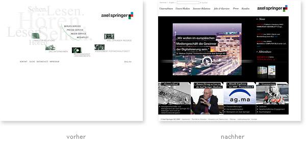 Axel Springer Relaunch