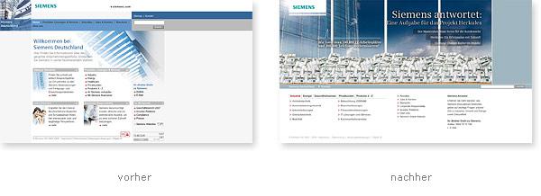 Siemens Relaunch