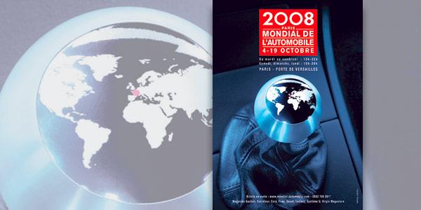 Plakat Autosalon Paris