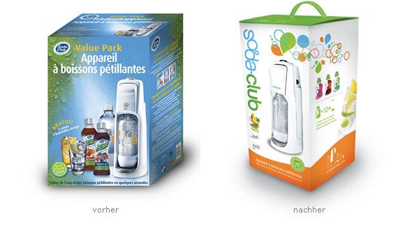 Soda-Club Verpackung