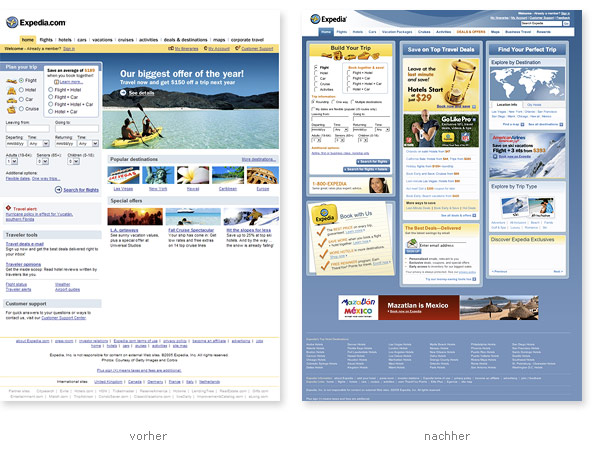 Expedia Relaunch