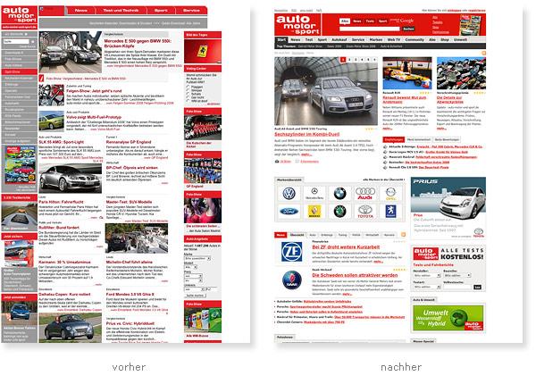 Auto Motor und Sport Relaunch