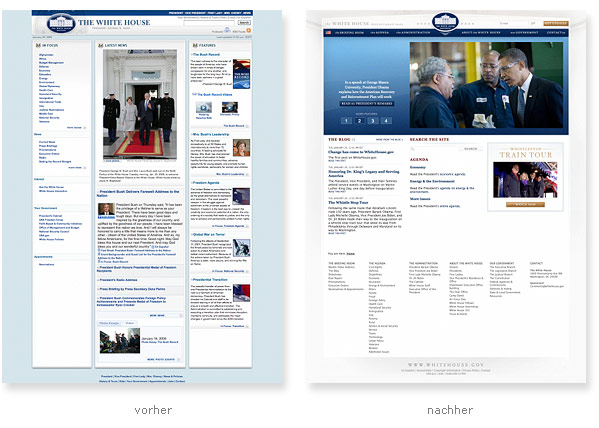Whitehouse.gov - Relaunch