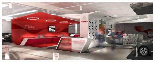 Citroen Store Design