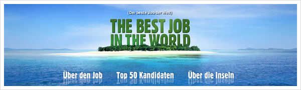 Best Job In The World - Queensland Werbekampagne