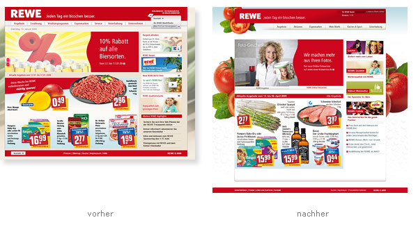 REWE Relaunch