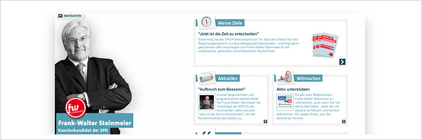 Steinmeier Website