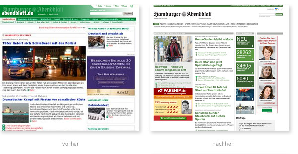 Hamburger Abendblatt Relaunch