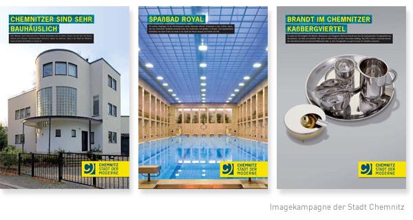 Imagekampagne der Stadt Chemnitz