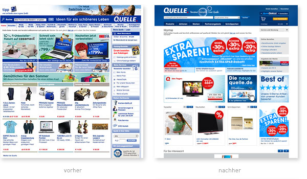 Quelle Relaunch