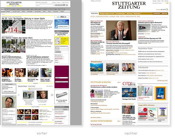 Stuttgarter Zeitung Relaunch