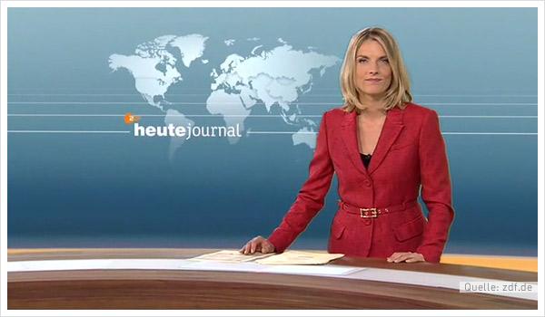 ZDF Nachrichtenstudio Design