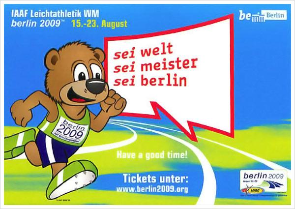 IAAF Plakat Berlin