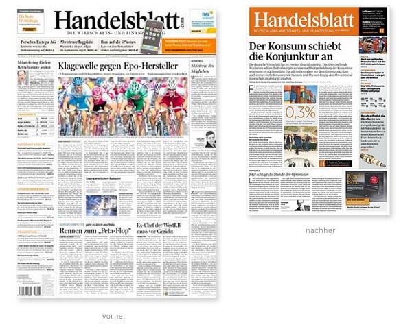 Handelsblatt Zeitung