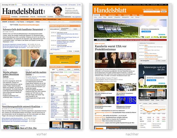 Handelsblatt Relaunch