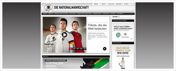 Team DFB Website