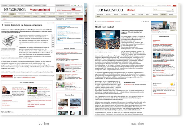 Tagesspiegel Relaunch